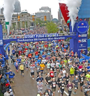 The 2019 OneAmerica 500 Festival Mini-Marathon attracted 20,000-plus entrants on  May 4. This year's race is suspended because of the coronavirus.