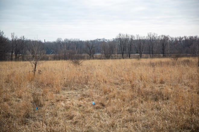 Waterworks Prairie Park is seen, Tuesday, March 24, 2020, between Interstate 80 and Dubuque Streets in Iowa City, Iowa.