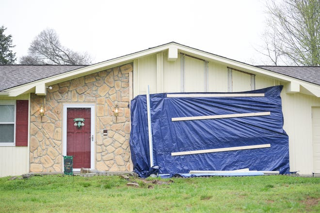 1204 Live Oak Circle pictured in West Knoxville, Tennessee on Tuesday, March 24, 2020.