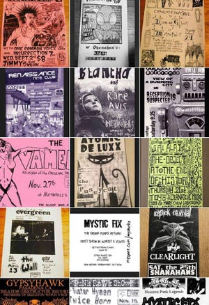Up Against the Wall, a local project, isattempting to preserve the art, culture, history, and innovation of punk flyers through personal collections and donations.