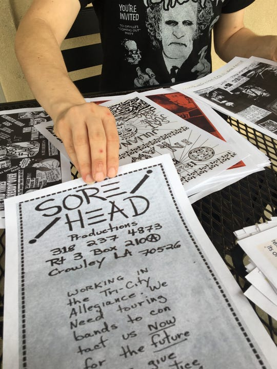 Up Against the Wall, a local project, is attempting to preserve the art, culture, history, and innovation of punk flyers through personal collections and donations.