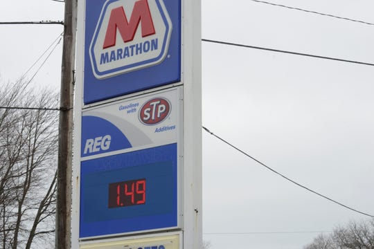 A Marathon station on Lexington Avenue appeared to have one of the lowest prices per gallon in the Mansfield area this week.