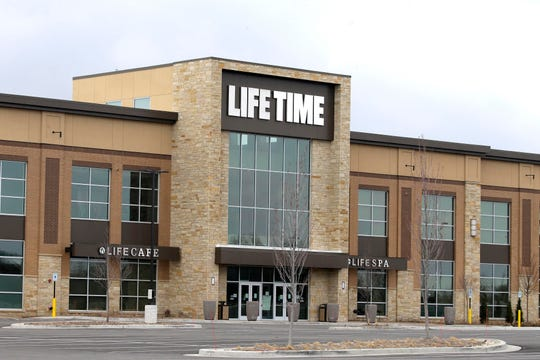 Life Time fitness center, which opened in Brookfield in November, remains closed to limit the spread of coronavirus in Wisconsin. Fitness centers and many other businesses will close for a month under a new order from Gov. Tony Evers aimed at keeping people in their homes to limit the spread of coronavirus in Wisconsin.
