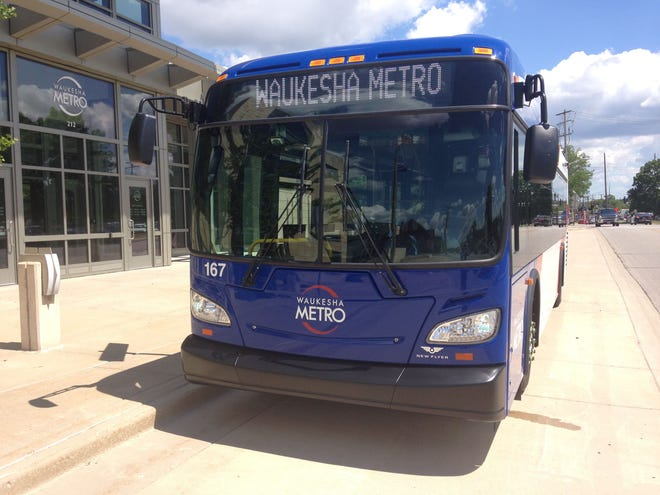 Rides on Waukesha Metro Transit buses will be free for now, in part to keep people from having to touch or use the farebox at the front of the buses. The city's transit line has implemented other temporary changes in response to concerns about the spread of the new coronavirus.