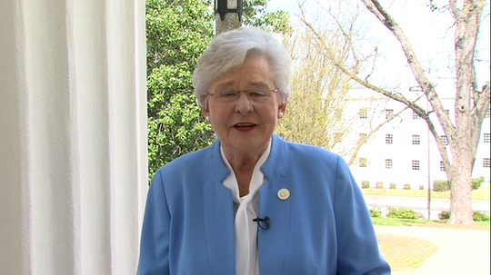 Alabama Gov. Kay Ivey offers a message of hope amid the state's response to the coronavirus pandemic.