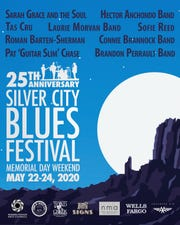 The 25th annual Silver City Blues Festival is tentatively scheduled for May 22-24 at Gough Park.
