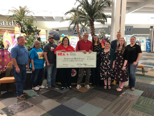 The MCM Elegante Lodge & Resort sent a donation to the American Red Cross to help families affected by the recent storms in Nashville, Tenn.