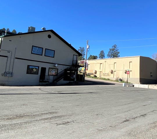 An empty parking lot is a ghostly reminder about the current state of Ruidoso.
