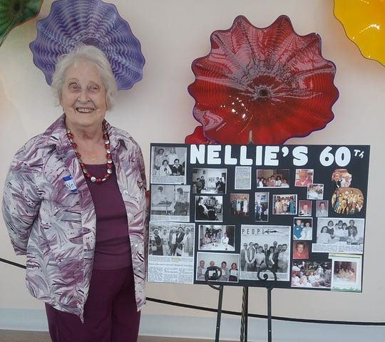 Nellie Ruth Jones, recently reached her 60-year Anniversary in Alpha Delta Kappa, Eta Chapter.