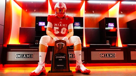 Franklin junior Kyle Fugedi has verbally committed to Miami (Ohio).