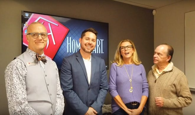 Realtor Stephen Burchard joins loan consultant Alexander Shelton and Realtors Kim Bloch and Neal Nussbaum in offering their services to the Coachella Valley community.