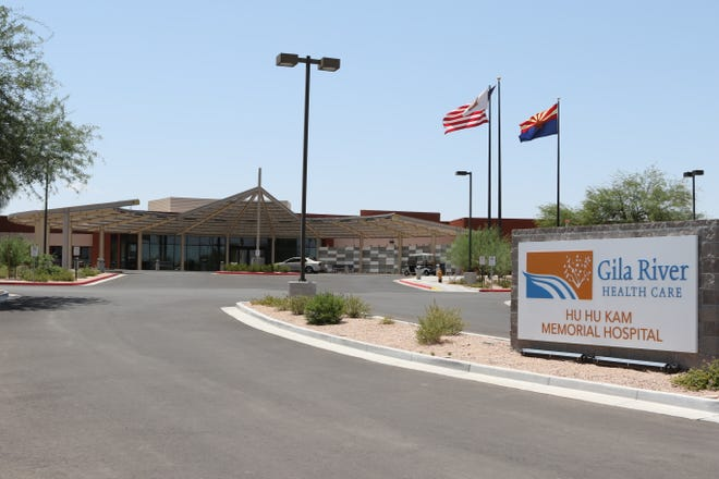 The Gila River Indian Community has several health care facilities, including the Hu Hu Kam Memorial Hospital in Sacaton, Arizona.
