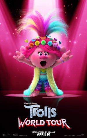 """Siendo conscientes de la situación actual, Universal Pictures anunció que la anticipada película animada para toda la familia """"Trolls World Tour"""", estará disponible a partir del 10 de abril en cines y plataformas on demand."""