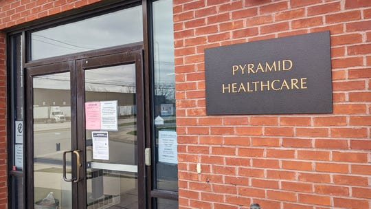 The Pyramid Healthcare York Methadone Maintenance Treatment Center, in Springettsbury Township, has had to take precautions during the COVID-19 pandemic.