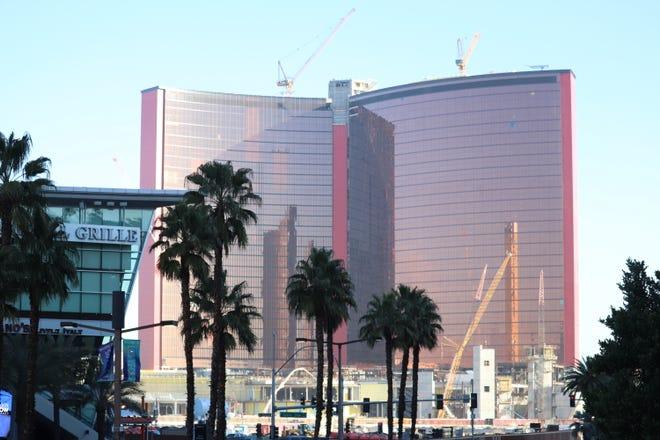Resorts World Las Vegas under construction.
