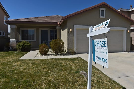 Homes for sale in the Double Diamond area on Monday March 24, 2020.