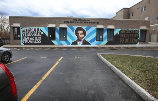 Frederick Douglass R-Center on South Avenue in Rochester Tuesday, March 24, 2020.