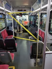 Passengers must board from and stay in the back of Cherriots buses to protect drivers from coronavirus.