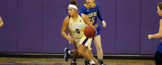 Former San Angelo Lake View athlete Jordan Brooks plays basketball for Converse College. A 2017 Lake View graduate, who played two sports at Converse, Brooks now concentrates on soccer, where she was named to the Conference Carolinas Presidential Honor Roll for Spring 2020.