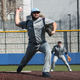 Trey Randel pitches earlier this season against Kansas Christian in Kansas City, Mo. on Feb. 28.