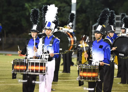 Kiersten Fultz, the drum major for Fort Defiance's Marching Indians this year, was one of many seniors who saw their school year cut short.