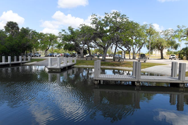 The boat ramps at MacWilliam Park in Vero Beach remain open, as seen in this photo taken Tuesday, March 24, 2020.