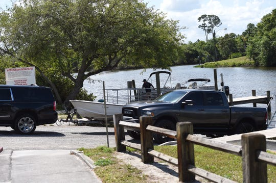 Recreational boaters launch onto the North Fork of the St. Lucie River at the county owned River Park Marina boat ramps on Prima Vista Boulevard Tuesday, March 24, 2020, in St. Lucie County. St. Lucie County boat ramps are currently open to the public, however the City of Port St. Lucie closed their boat ramps to help prevent the spread of the COVID-19 virus.