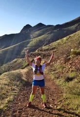 Tri-athlete Angie Rodriguez said she always goes hiking or running before 6 a.m. so she hasn't had an issue keeping social distance. She has noticed more people at parks, however.