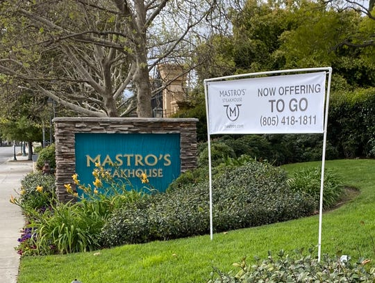 Mastro's Steakhouse in Thousand Oaks is offering curbside delivery of prepared dishes and dinner kits that include dry-aged steaks, proprietary steak rub, salad, side dishes and warm butter cake for two or four people.