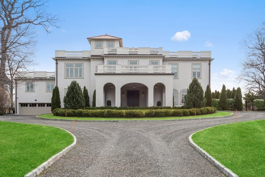This home on Premium Point in Mamaroneck is available to rent for $50,000 a month