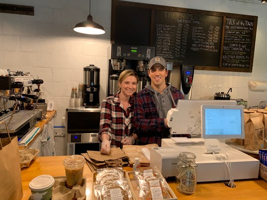 Michelle Piacente and Erich Smith opened The Farmer's Grind in South Salem during the midst of the coronavirus.