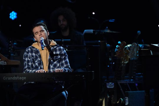 """Jonny West performs on Monday's edition of """"American Idol"""" on ABC."""