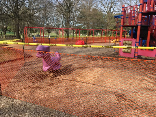 On Tuesday, New Castle County Executive Matt Meyer announced the county is closing certain park amenities, installing fences around others and taking apart basketball hoops after large groups congregated there over the weekend.