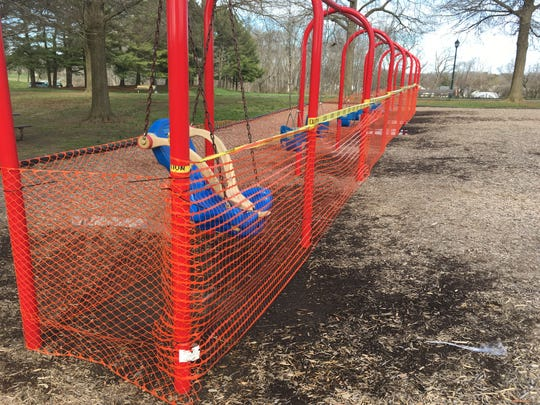 On Tuesday,New Castle County Executive Matt Meyer announcedthe countyis closing certain park amenities, installing fences around others and taking apart basketball hoops after large groups congregated there over the weekend.