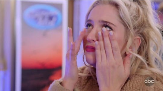 """Wilmington native Margie Mays reacts to being cut from """"American Idol"""" for the second year in a row."""