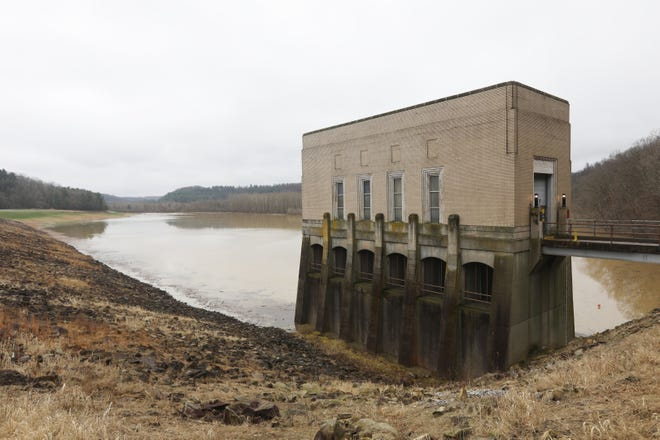 Rising water levels behind Wills Creek Dam in Coshocton County has lead to the closure of Ohio 83 northwest of Otsego.