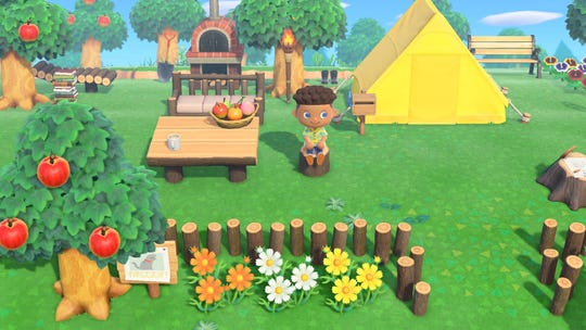 A scene from 'Animal Crossing: New Horizons.'