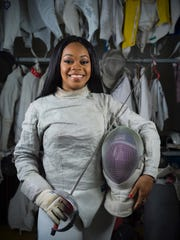 Kamali Thomspon is a U.S. saber fencer who is a student at Rutgers Robert Wood Johnson Medical School.