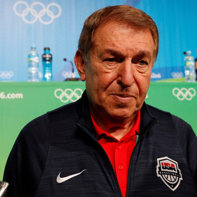Jerry Colangelo will have multiple contingency plans for the make up the USA Olympic men's basketball team depending on when the Tokyo Games are rescheduled.