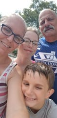The Marandola family enjoyed a summer filled with Dorney Park outings and other fun as their son John battled brain cancer, courtesy of a community fundraising effort on Facebook organized by Audubon resident Steve Radie.