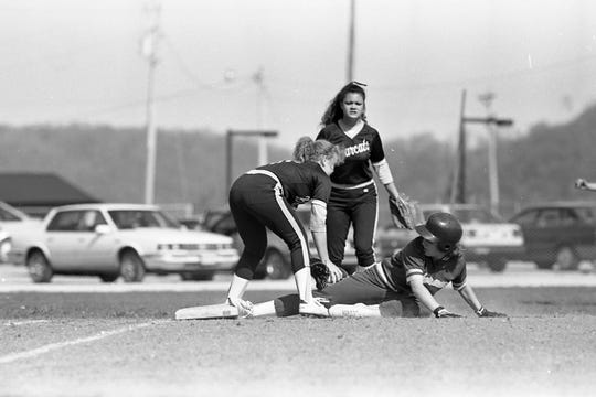 Paint Valley upset Unioto 6-4 during an SVC game in April 1993.