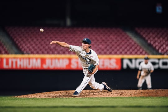 Lane Flamm has been ranked the No. 3 sophomore college pitcher by DI Baseball. Flamm pitched in high school for New Richmond before moving on to Xavier