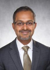 Suresh Gunasekaran, executive director of the University of Iowa Hospital.