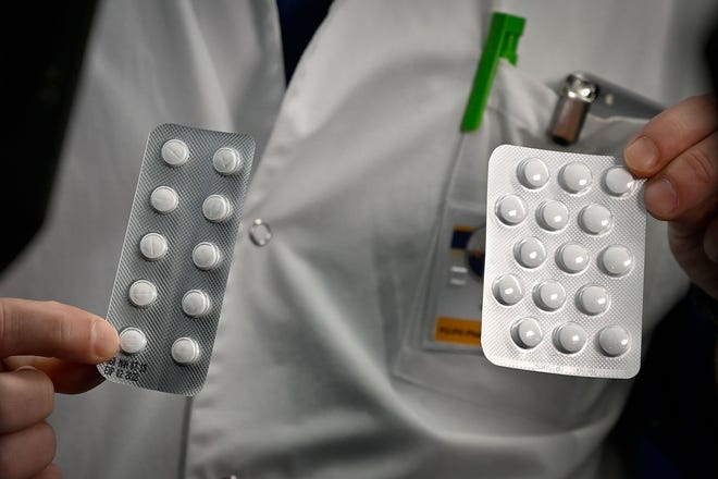 """Hydroxychloroquine, an antimalarial drug dubbed a """"gift from God"""" by US President Donald Trump for its potential ability to fight the new coronavirus, was found to be no more effective than standard treatment in a small Chinese study."""