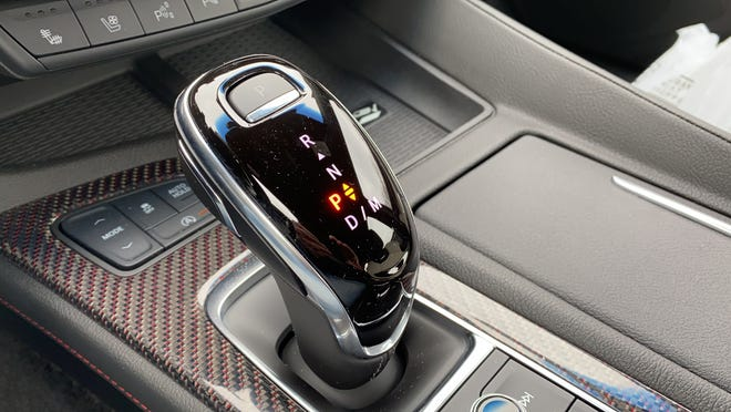 A 10-speed automatic transmission is standard n the Cadillac CT5