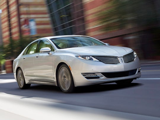 The 2014 Lincoln MKZ, shown, is included in Ford's latest recall.