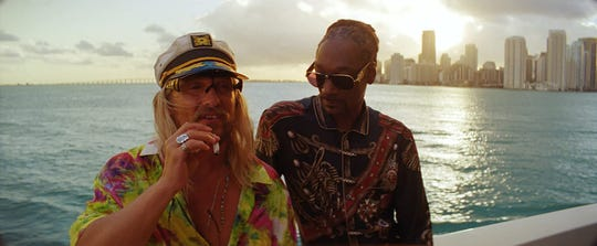 "Matthew McConaughey and Snoop Dogg in ""The Beach Bum."""