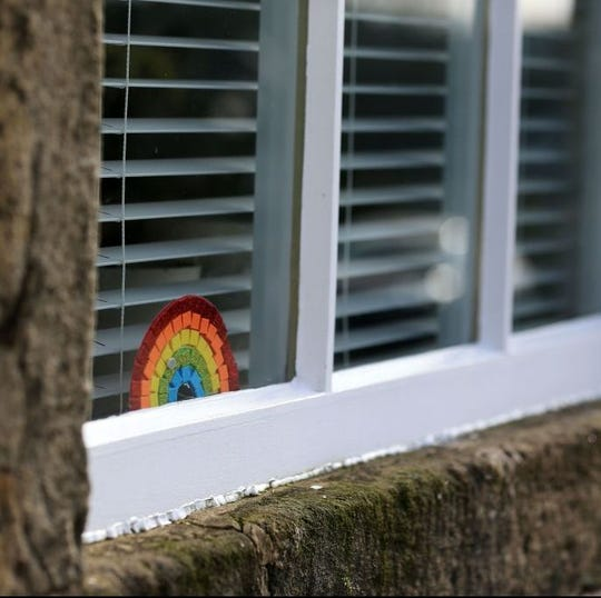Across the world, people are putting rainbows in their windows to spread hope during these challenging times.