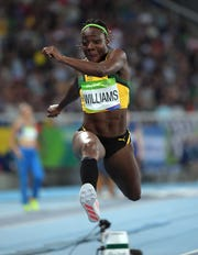 During her Olympic career, Kimberly Williams has reached the finals for the triple jump twice.