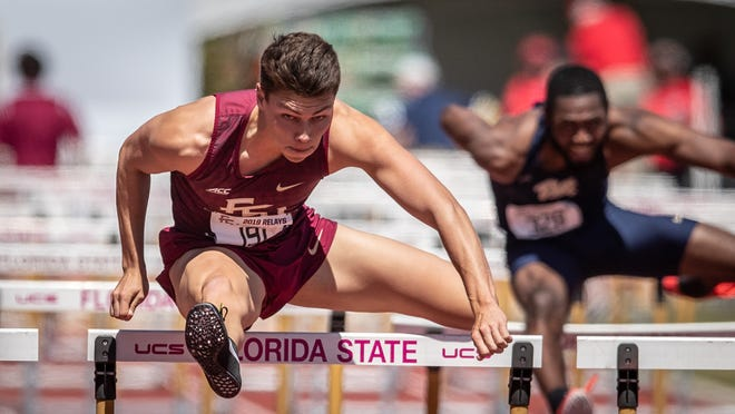 Senior Trey Cunningham has received All-American honors three times during his career at FSU.
